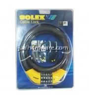 SOLEX Combination Cable Lock