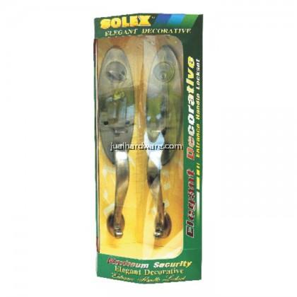 SOLEX Alloy Door Handle Lockset 695PB