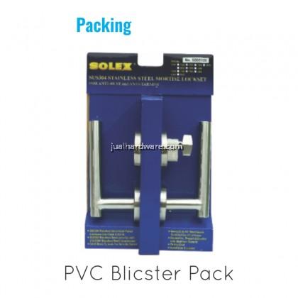 SOLEX Stainless Steel Mortise Door Lockset 105SS