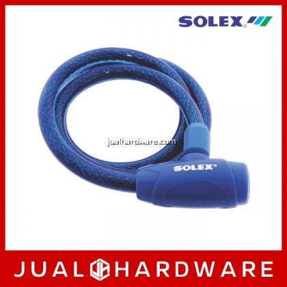 SOLEX Cable Lock No:3310 - Blue
