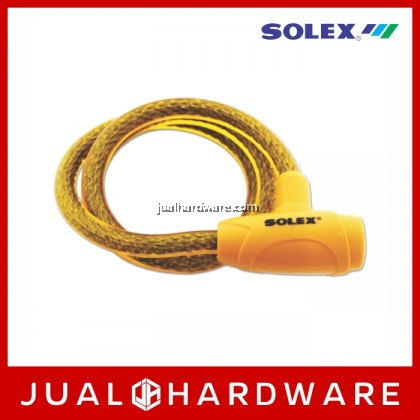 SOLEX Cable Lock No:3310 - Yellow