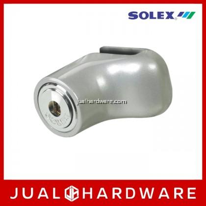 SOLEX Motorcycle Lock - Silver