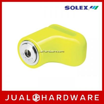 SOLEX Motorcycle Lock - Yellow