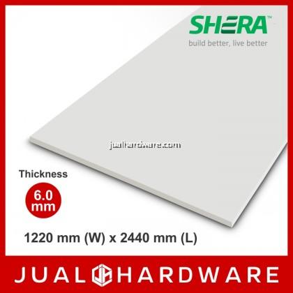 SHERA Wall Board Square Cut (6mm x 1220mm x 2440mm)