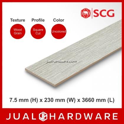 SCG Smart Wood Plank (7.5mm x 230mm x 3660mm) - 220PCS @RM22.00/PC
