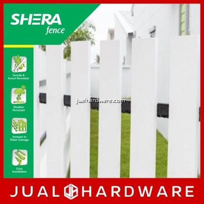 SHERA Fence - Teak (8mm x 150mm x 1500mm) - 5pcs