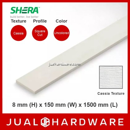 SHERA Fence - Cassia (8mm x 150mm x 1500mm) - 5pcs