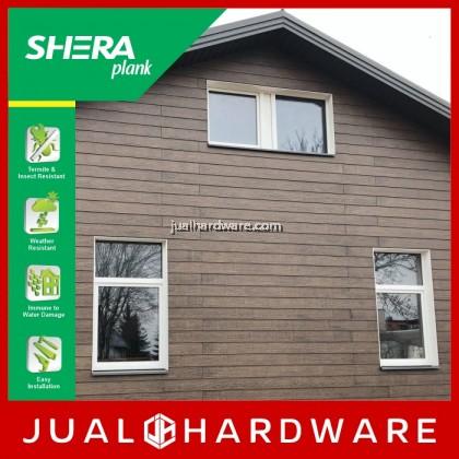 SHERA Plank Colors - Afromosia Brown (8mm x 150mm x 3000mm) - 5PCS