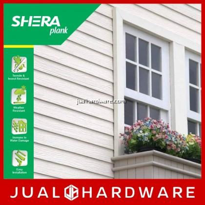 SHERA Plank - Teak / Square Cut (8mm x 200mm x 3000mm) - 5PCS