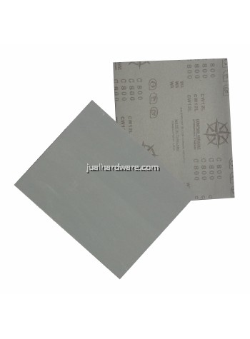 COMPASS Waterproof Silicon Carbide Latex Paper (10pcs / order)