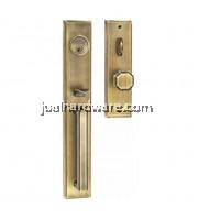 SOLEX Alloy Door Handle Lockset 3862AB