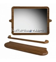 'PIXO' 3 IN 1 RECTANGULAR MIRROR SET (41 x 60 cm) - MS 016
