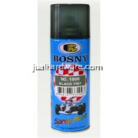 BOSNY Black Tint Spray Paint 400CC