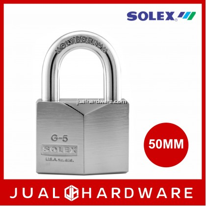 SOLEX G5 50MM Chromium Padlock