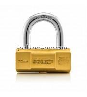 SOLEX HAMMER TYPE BRASS PADLOCK NO:H70