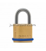 SOLEX BRASS PADLOCK , SL-110- 25MM