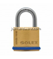 SOLEX BRASS PADLOCK , SL-110 - 30MM