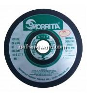 MORRITA 100 x 2 x 16 - FLEXIBLE GRINDING WHEEL FOR GLASS GC #80