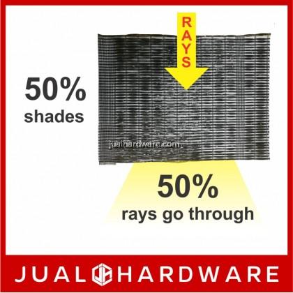 ORCHID Black Sunshade Net - 50% (1 Meters x 30 Meters)