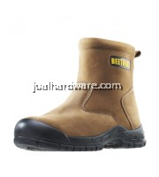 BT-8863 BEETHREE 8-Inches Ankle Safety Boot (DARK BROWN)