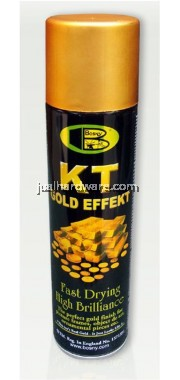 BOSNY KT Gold Effekt Spray Paint